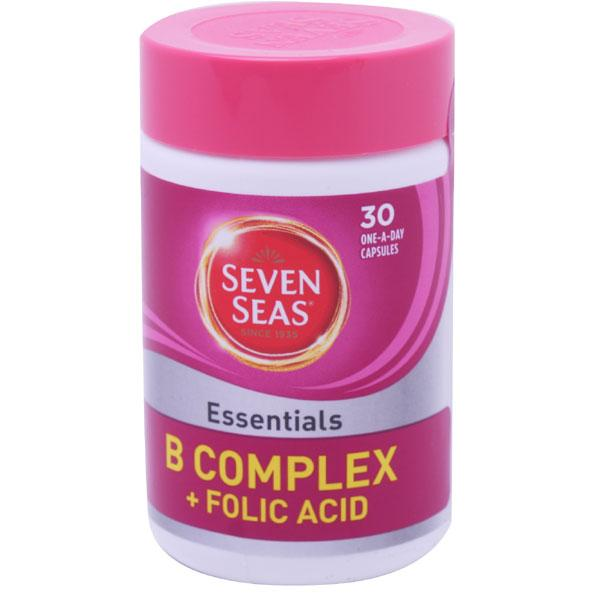Seven Seas Vitamin B Complex One-a-day Capsules