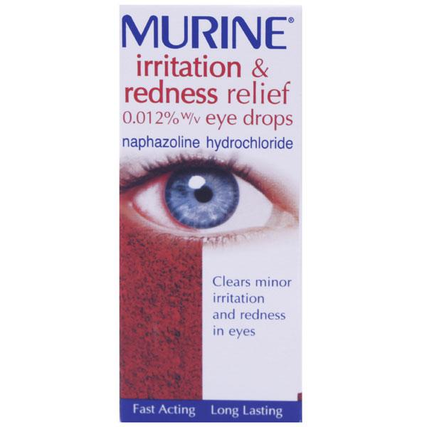 Murine Irritation & Redness Eye Drops