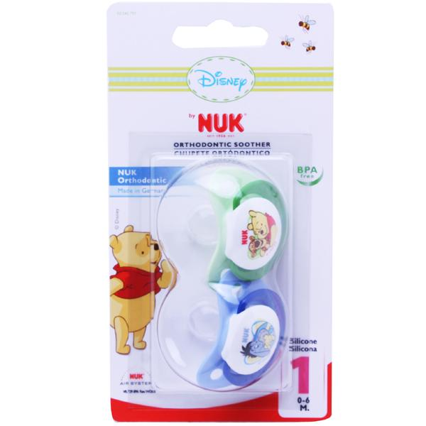 NUK Disney Soother Size 1 BlueGreen