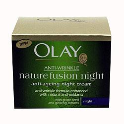 Olay Anti Wrinkle Nature Fusion Night Cream