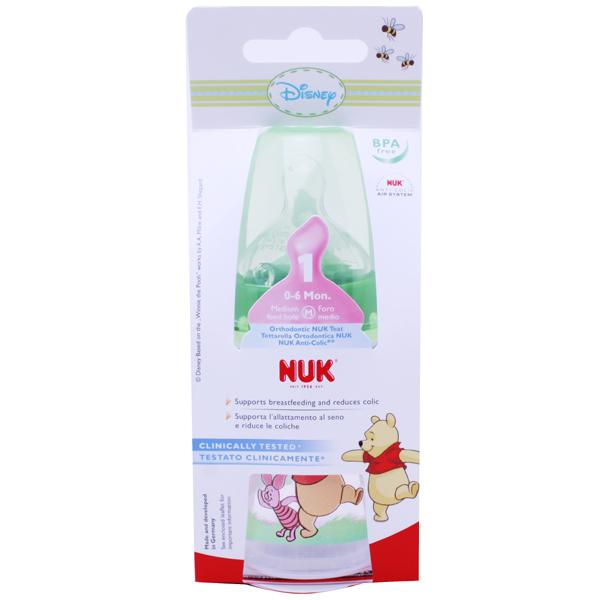 NUK Disney First Choice Bottle Green 150ml