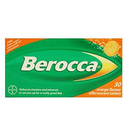 Berocca Effervescent Tablets 30's Orange Flavour