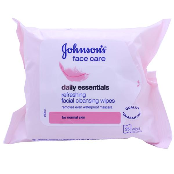 Johnsons Facial Cleansing Wipes