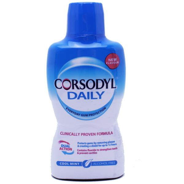 Corsodyl Daily Mouthwash Alcohol Free