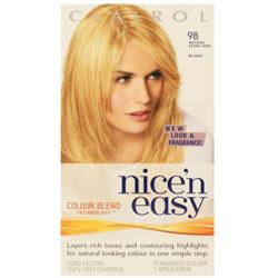 Clairol Nice'n Easy 98 Natural Extra Light Blonde