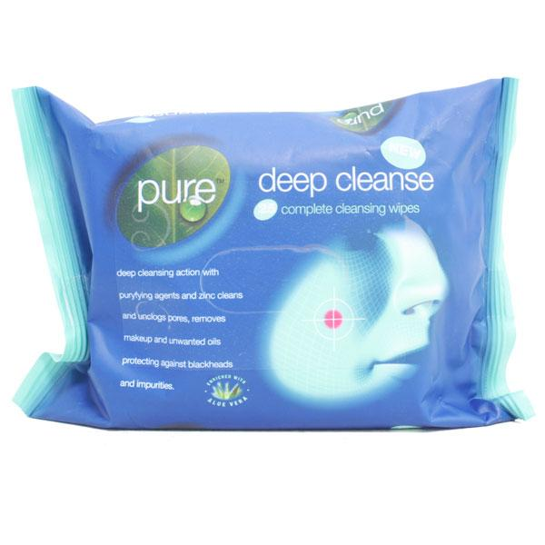 Pure Deep Cleansing Wipes