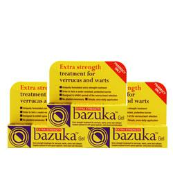 Bazuka Extra Strength Gel Triple Pack