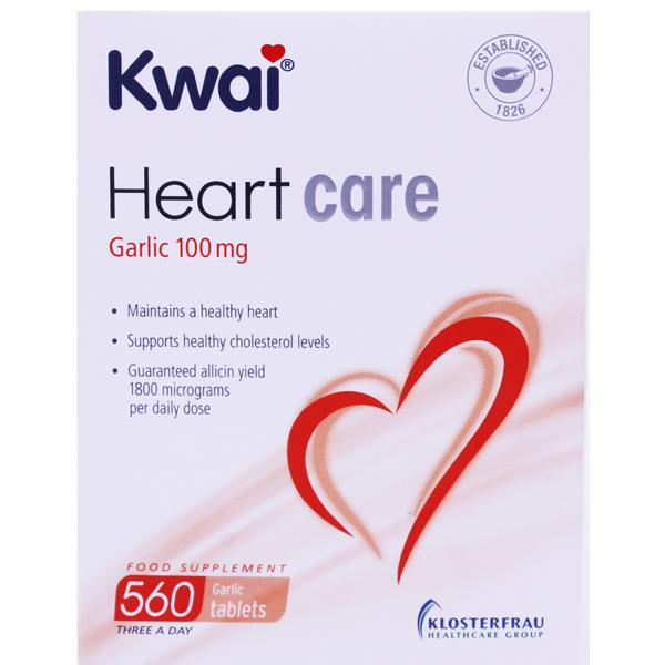 Kwai Heart Care Garlic 100mg Tablets