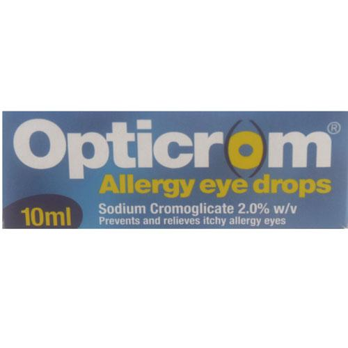 Opticrom (Sodium Cromoglicate) 2% Eye Drops