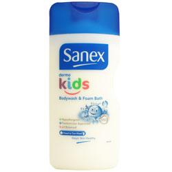 Sanex Dermo Kids Bodywash and Foam Bath