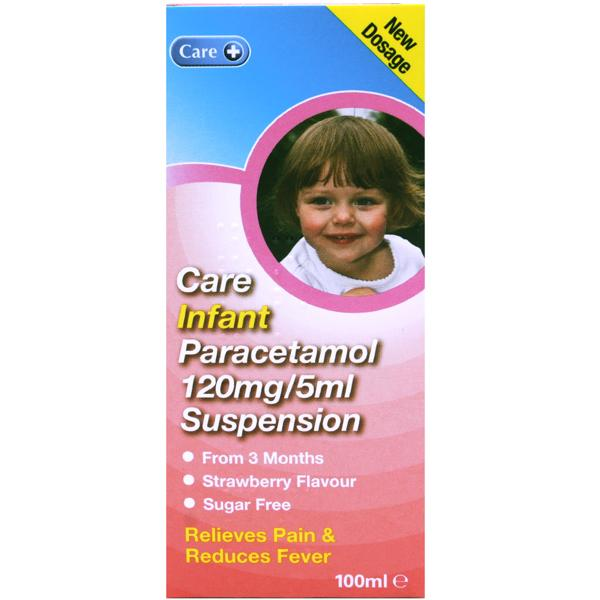 Infant Paracetamol Suspension (Care)