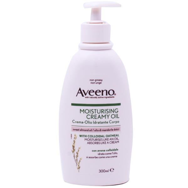 Save On Aveeno Moisturising Creamy Oil Uk Next Day Delivery
