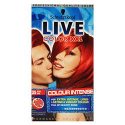 Schwarzkopf Live Color XXL Real Red