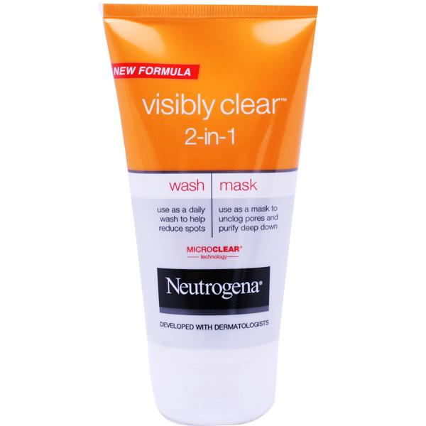 Neutrogena Visibly Clear 2 In 1 Wash