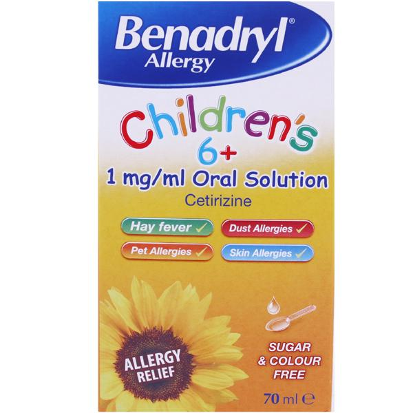 Benadryl Allergy Childrens Oral Solution