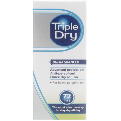 Triple Dry Advanced Formula Anti-Perspirant Roll On