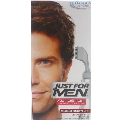 Just For Men A35 AutoStop Medium Brown
