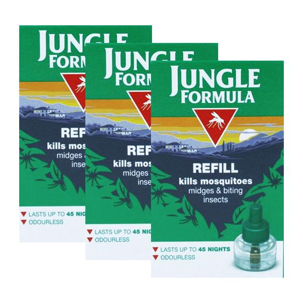 Jungle Formula Plug In Refill Triple Pack