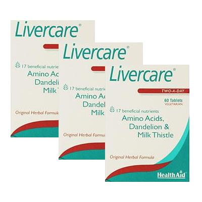 HealthAid Livercare Tablets Triple Pack