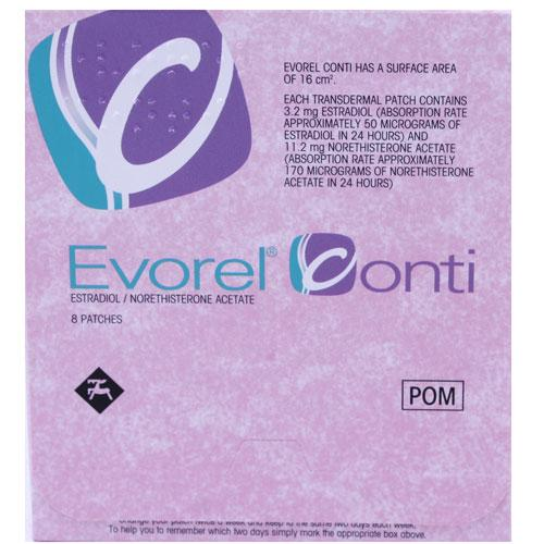 Evorel Conti 8 Patches