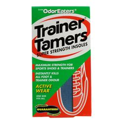 Odor Eaters Trainer Tamers Super Strength Insoles