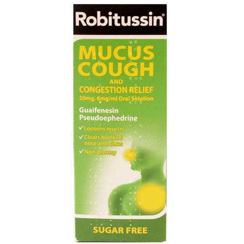 Robitussin Mucus Cough with Congestion