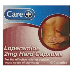 Loperamide 2mg Capsules (Care)