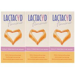 Lactacyd Femina Daily Protective Wash Triple Pack