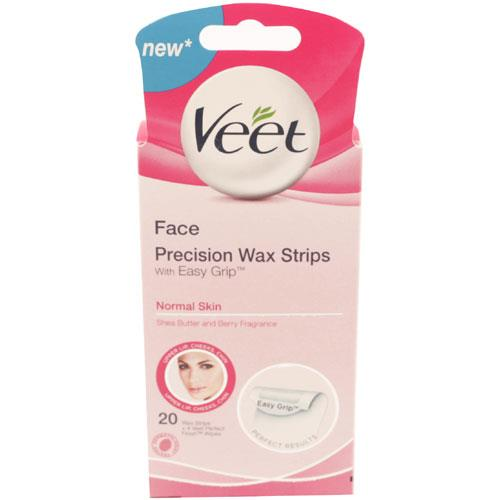 Veet Normal Skin Face Wax Strips
