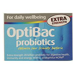 Optibac Probiotics Extra Strength For Daily Wellbeing