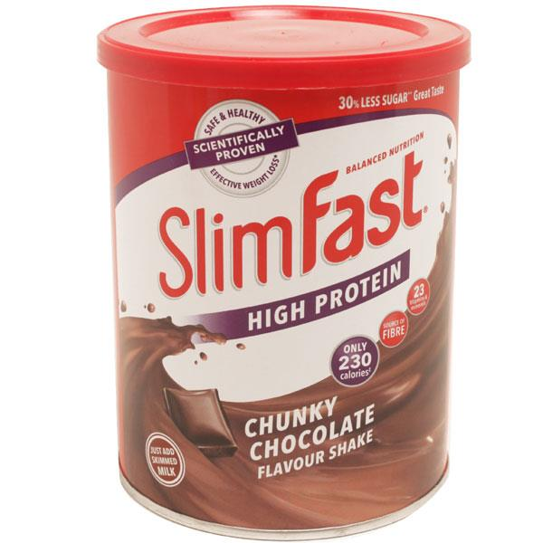 Slimfast High Protein Chunky Chocolate Flavour Shake