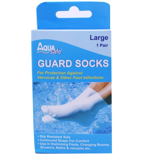 AquaSafe Guard Socks Large