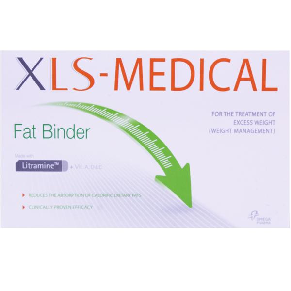 XLS Medical Fat Binder Tablets 60