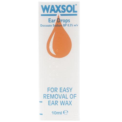 Waxsol Ear Drop Solution