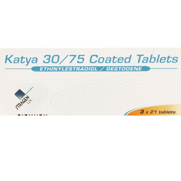 Katya 30/75 Coated Tablets