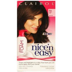 Clairol Nice'n Easy Foam 6A Light Ash Brown