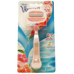 Gillette Venus Breeze 2 in 1 Razor Plus Gel Bars