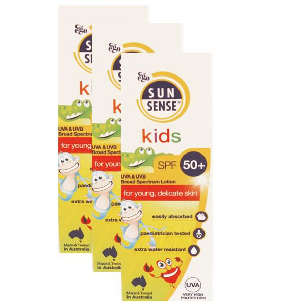 Sunsense Toddler Milk Roll On Triple Pack