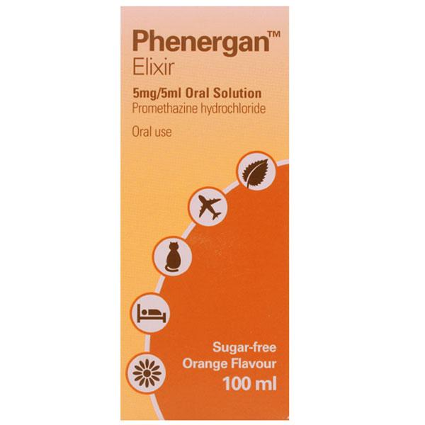 Phenergan Elixir 5mg/5ml Oral Solution