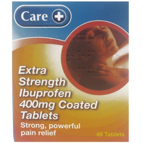 Ibuprofen 400mg Tablets  Extra Strength (Care)