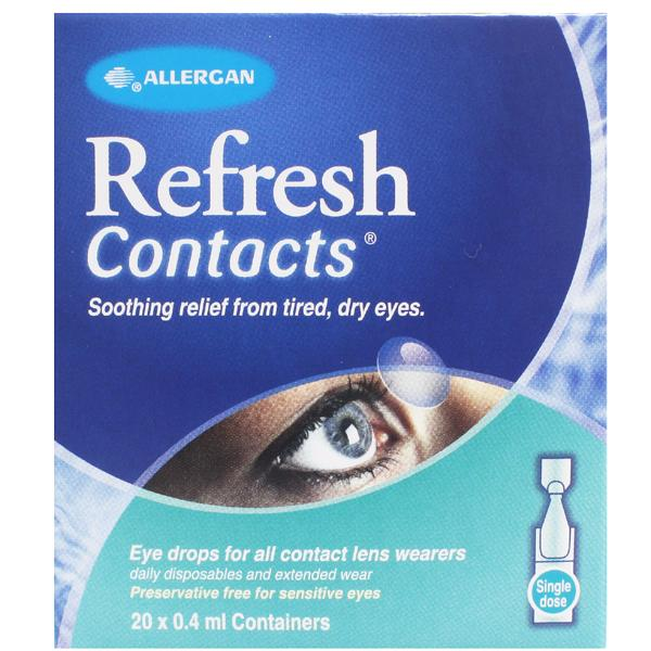 Refresh Contacts Single Dose Eye Drops