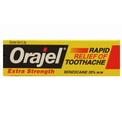 Orajel Extra Strength Gel