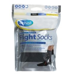 Scholl Flight Socks Comp Level 14-17mmHg
