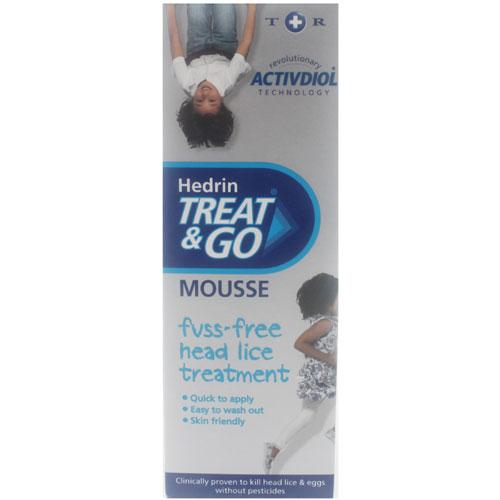 Hedrin Treat & Go Head Lice Mousse
