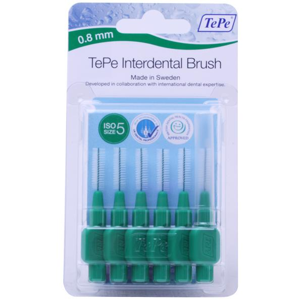 TePe Interdental Brushes 0.8mm