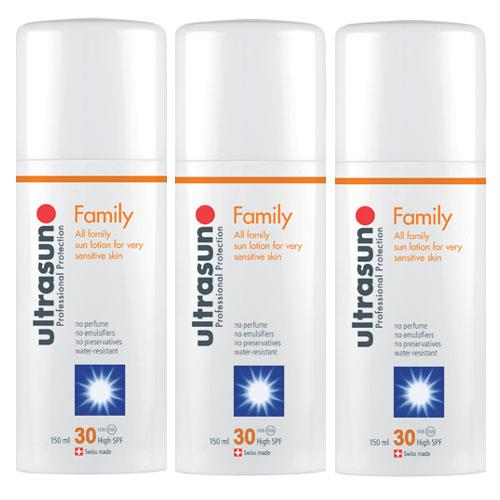 Ultrasun Super Sensitive SPF30- Triple Pack