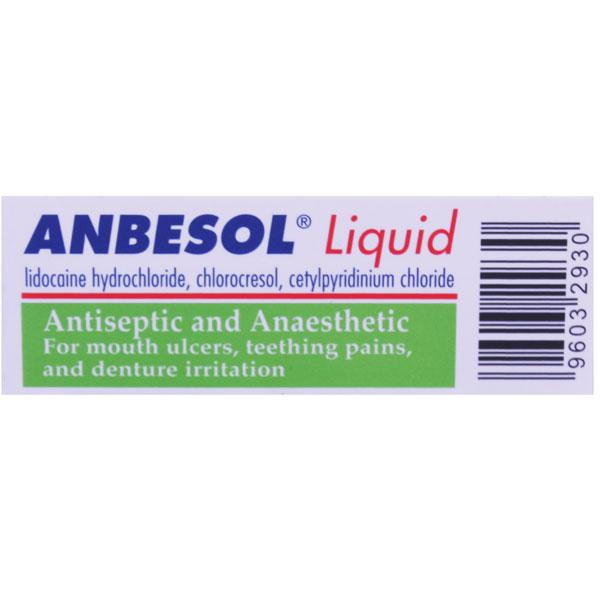 Anbesol Liquid Antiseptic and Anaesthetic