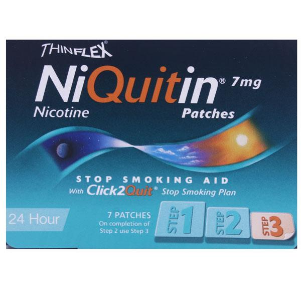Niquitin 24 Hour 7mg Patches