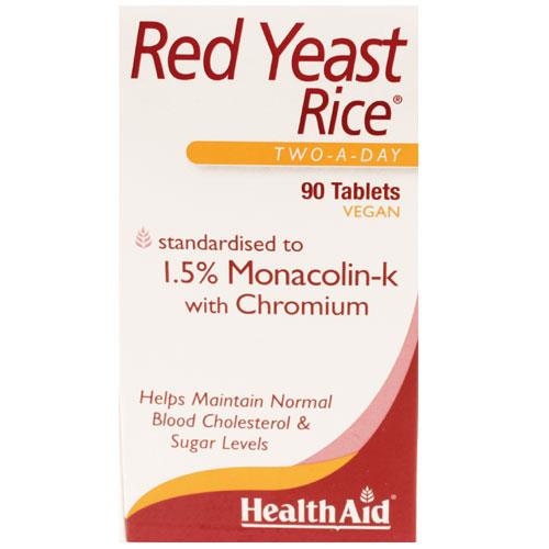 HealthAid Red Yeast Rice Tablets