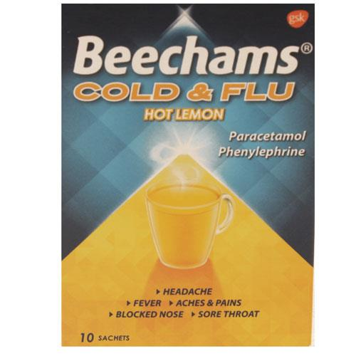 Beechams Cold + Flu Lemon